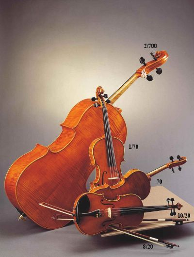 Akord Kvint Josef Holpuch Nr 1/70 Guarneri Viola